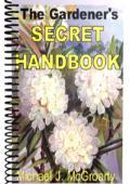 Gardner's Secret Handbook
